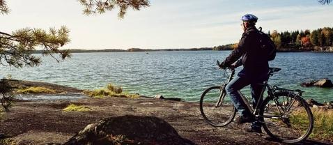 По Финляндии на велосипеде Жизнь