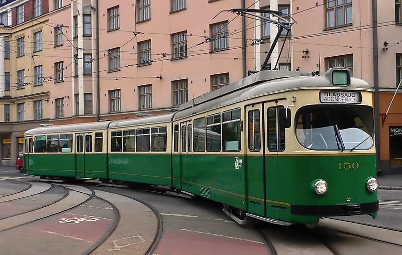Трамвай в Хельсинки Жизнь