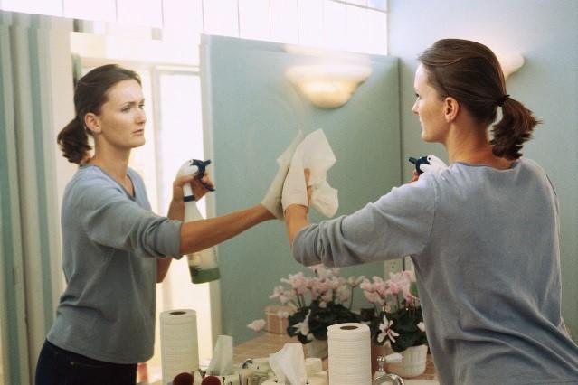 Уход за зеркалами Полезные советы