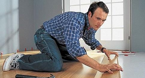 Как уложить ламинат на фанеру Ремонт в доме