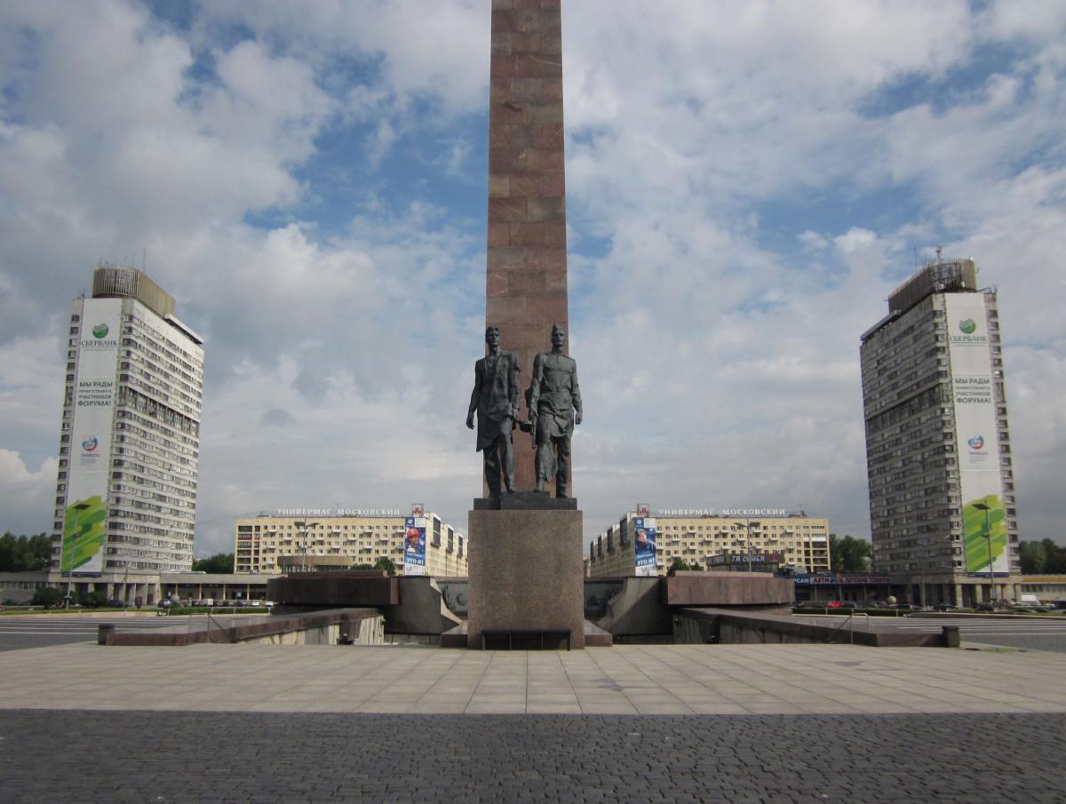 Монумент Героическим защитникам Ленинграда Путеводитель